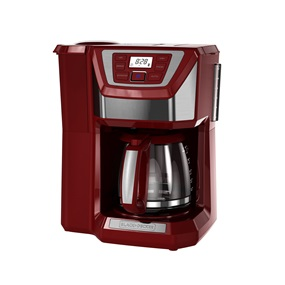 Black And Decker Coffee Maker Cm1300sc : 12-Cup Mill & Brew Coffeemaker CM5000RD BLACK + DECKER