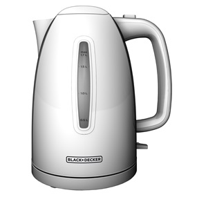 KE1500W 1.7L Rapid Boil Electric Cordless Kettle Prd5