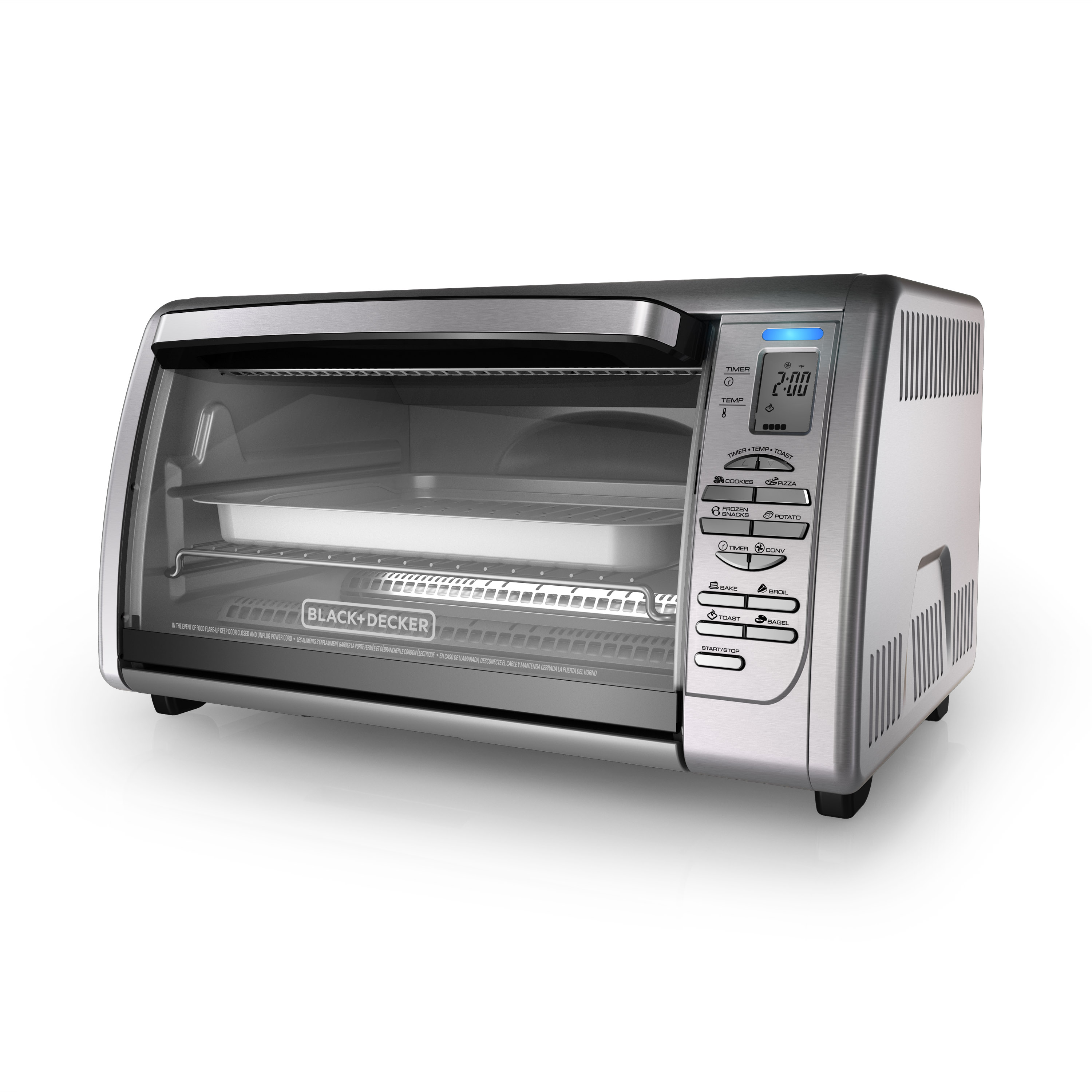 convection and toaster ovens cooking appliances black decker rh blackanddeckerappliances com