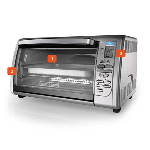 Countertop Convection Toaster Oven Cto6335s Black Decker