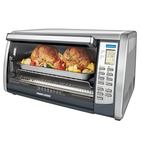 BLACK+DECKER Digital Advantage Toaster Oven CTO6301 BLACK + DECKER