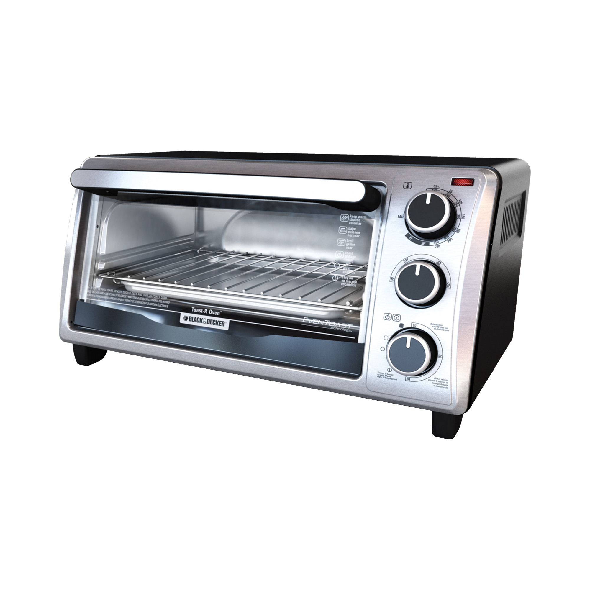 Buy a Black and Decker 4-Slice Toaster Oven Countertop Toaster Oven ...