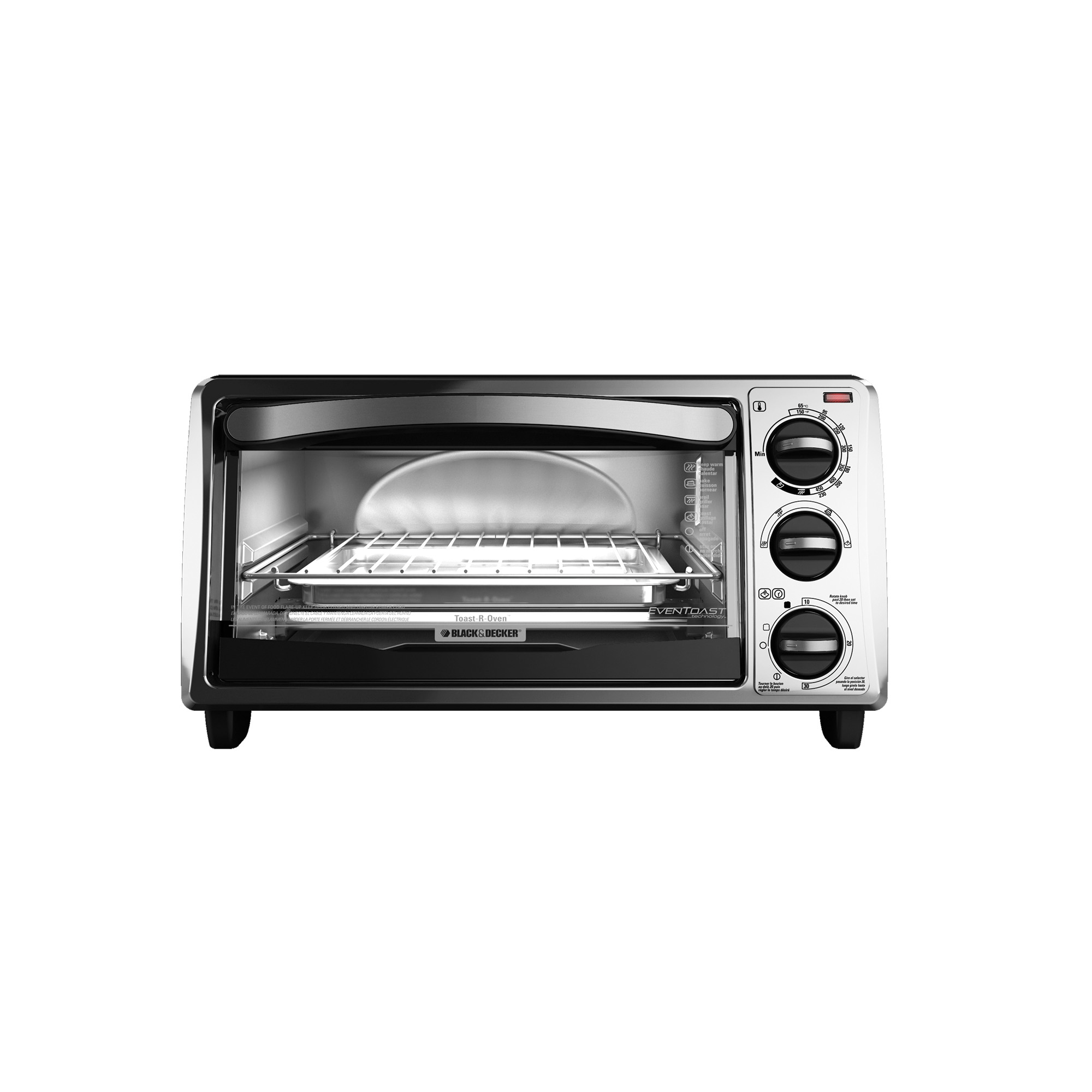 black and decker digital advantage toaster oven manual