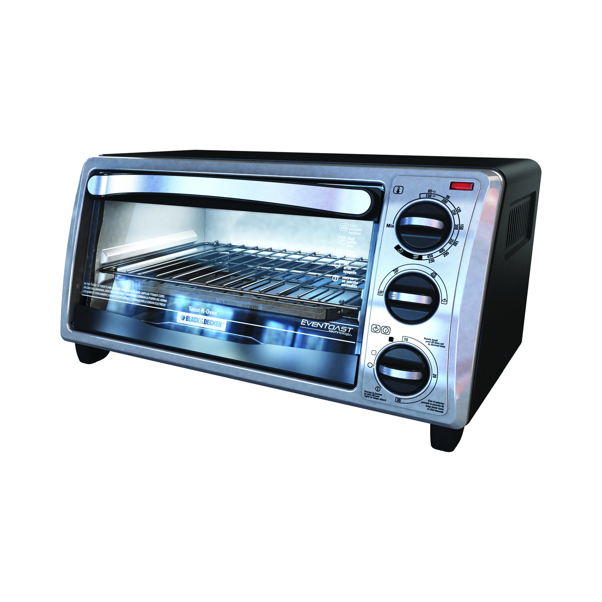 Countertop Toaster Oven : ... and Decker 4-Slice Toaster Oven Countertop Toaster Oven TO1313SBD