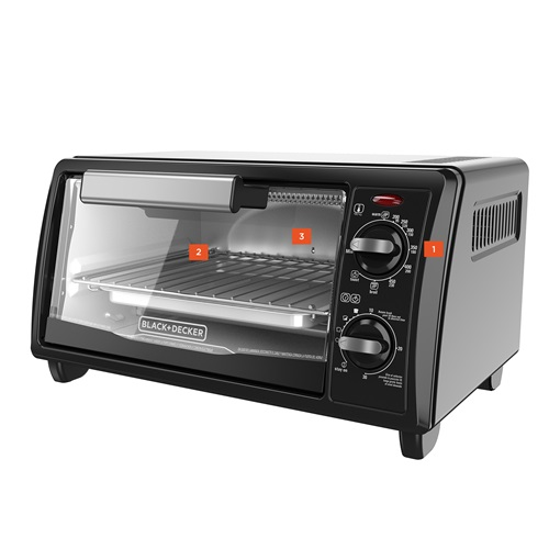 Slice Toaster Oven Black and Decker