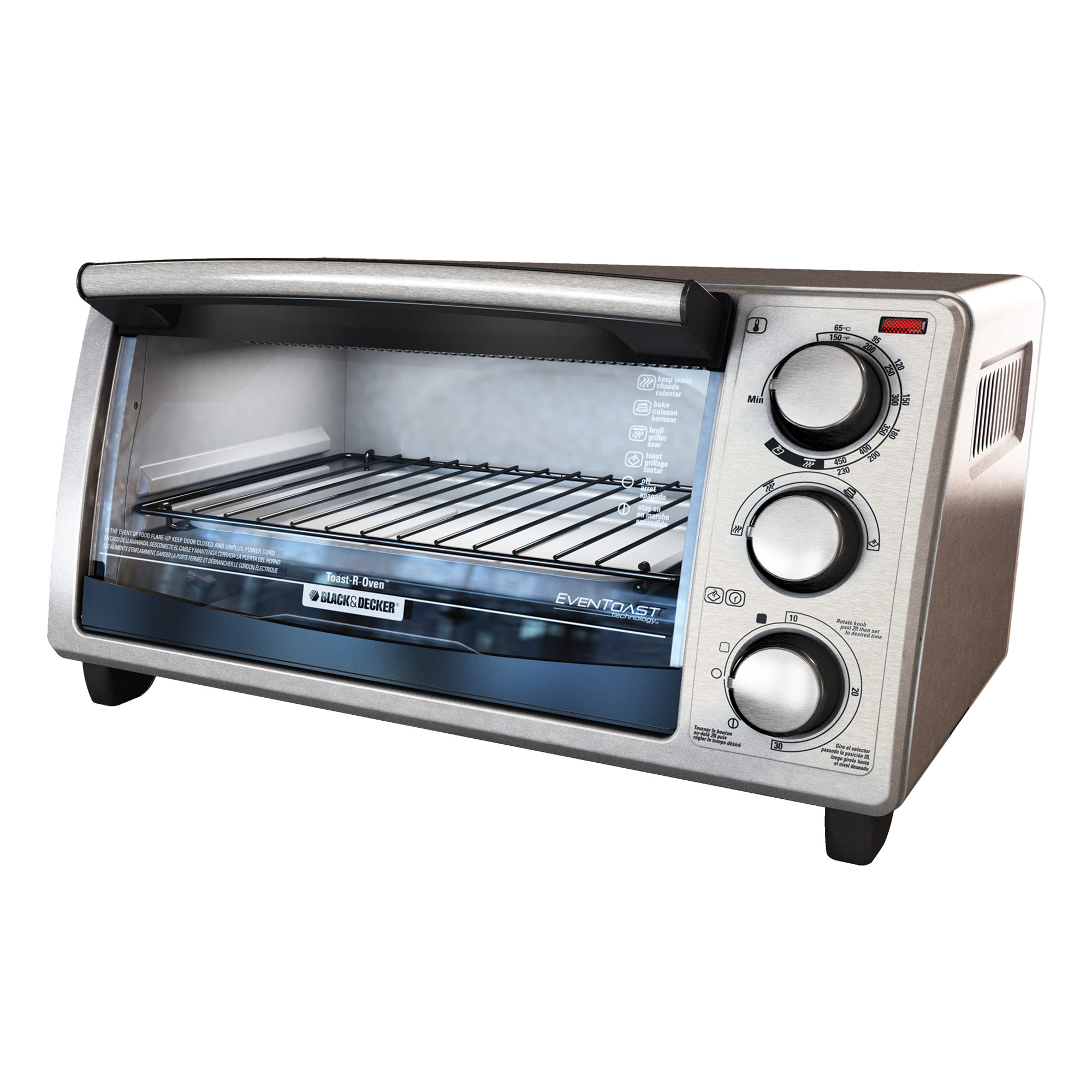 Countertop Oven Toaster : Slice Countertop Toaster Oven