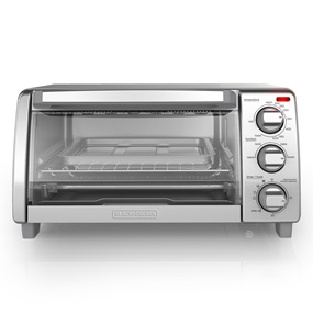 black and decker natural convection toaster oven TO1745SSG