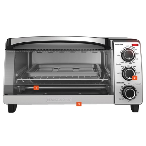 Natural Convection Toaster Oven Black Decker
