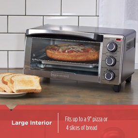 Natural Convection Toaster Oven
