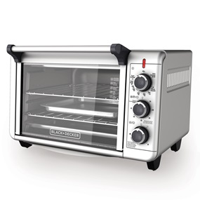 Countertop Convection Toaster Oven Recipes : Slice Convection Countertop Oven BLACK + DECKER