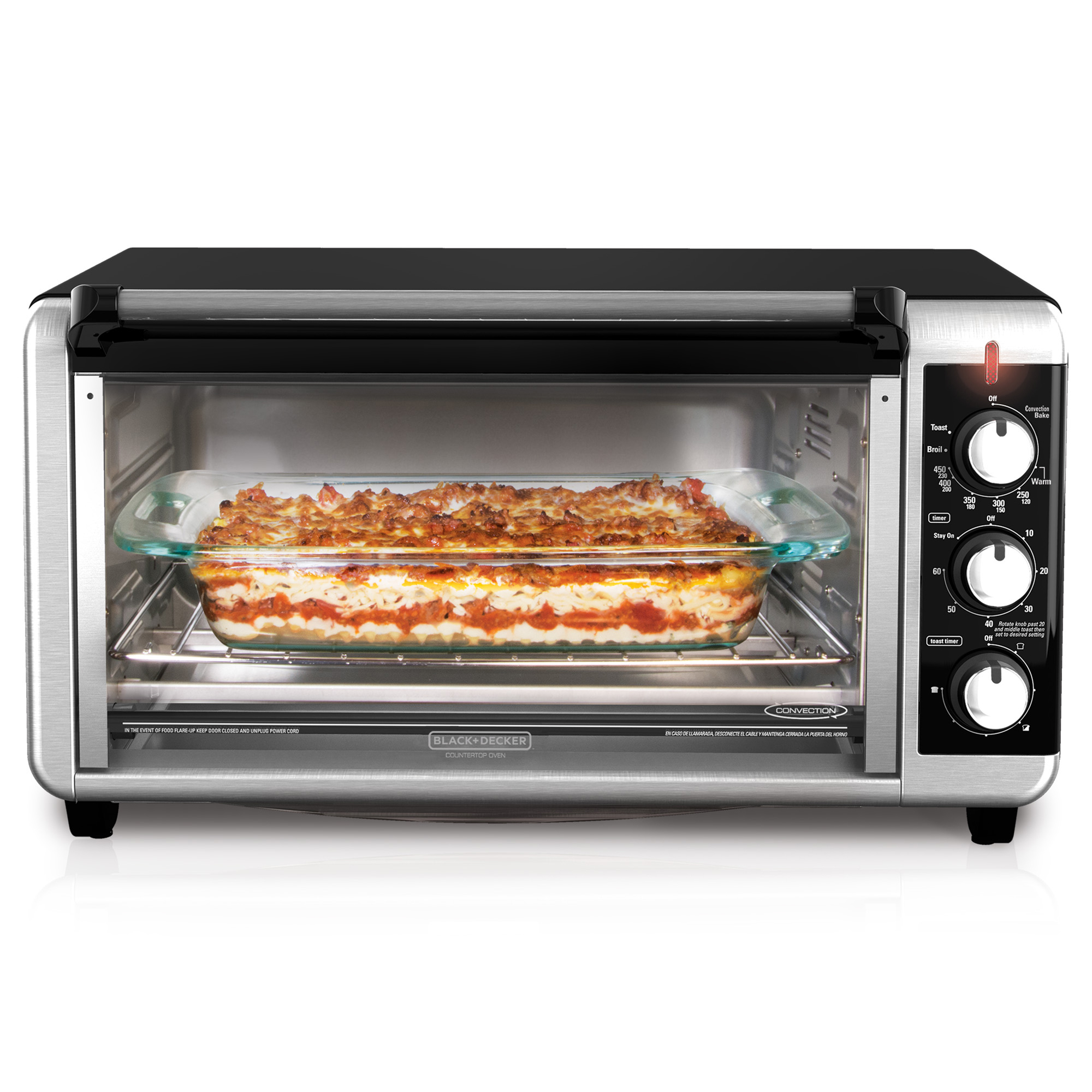 Extra Wide 8 Slice Toaster Oven