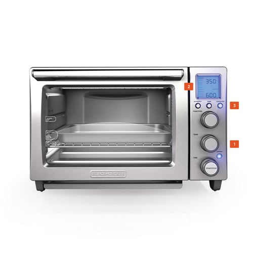 Performance Convection Countertop Oven TO5000SQ BLACK + DECKER