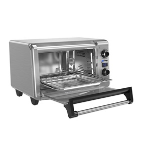 TOD3300SS 6-Slice Digital Convection Countertop Oven, Toaster Oven, Stainless Steel