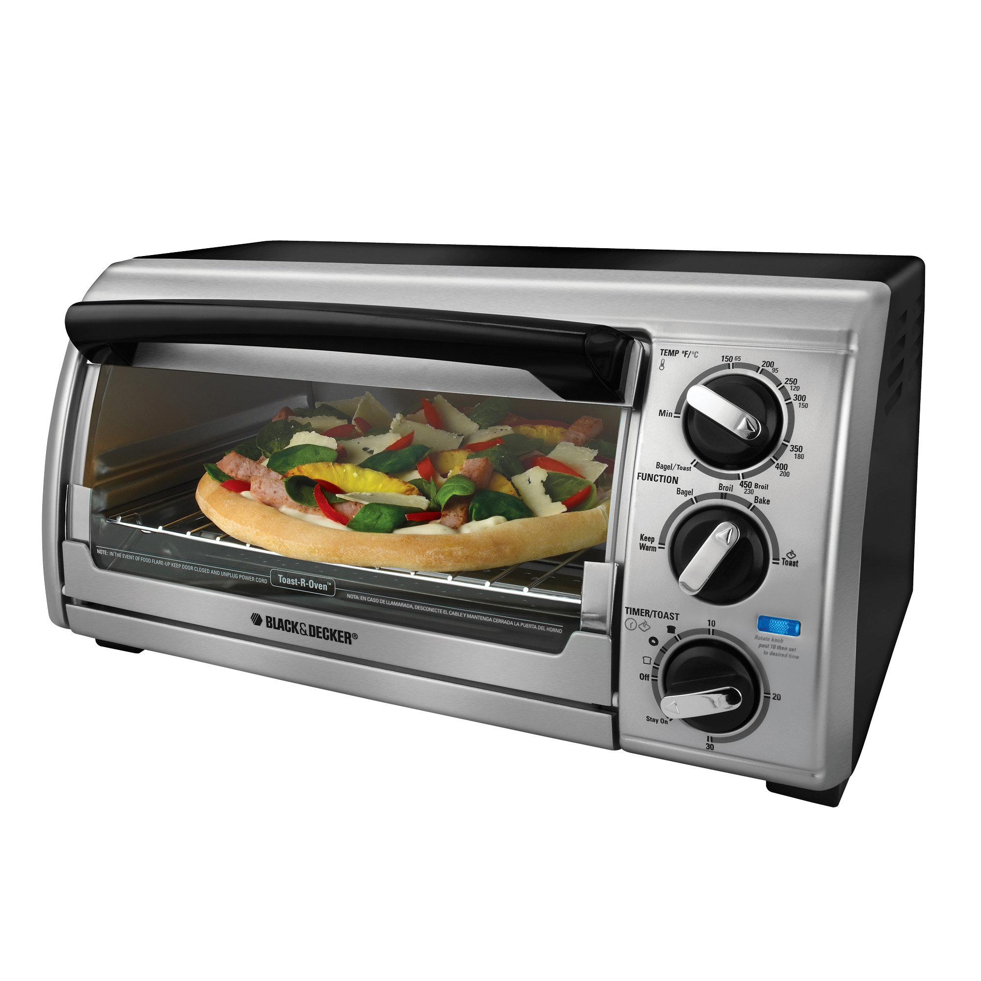 ... Black and Decker Toaster Oven Counter Top Toaster Oven TRO480BS