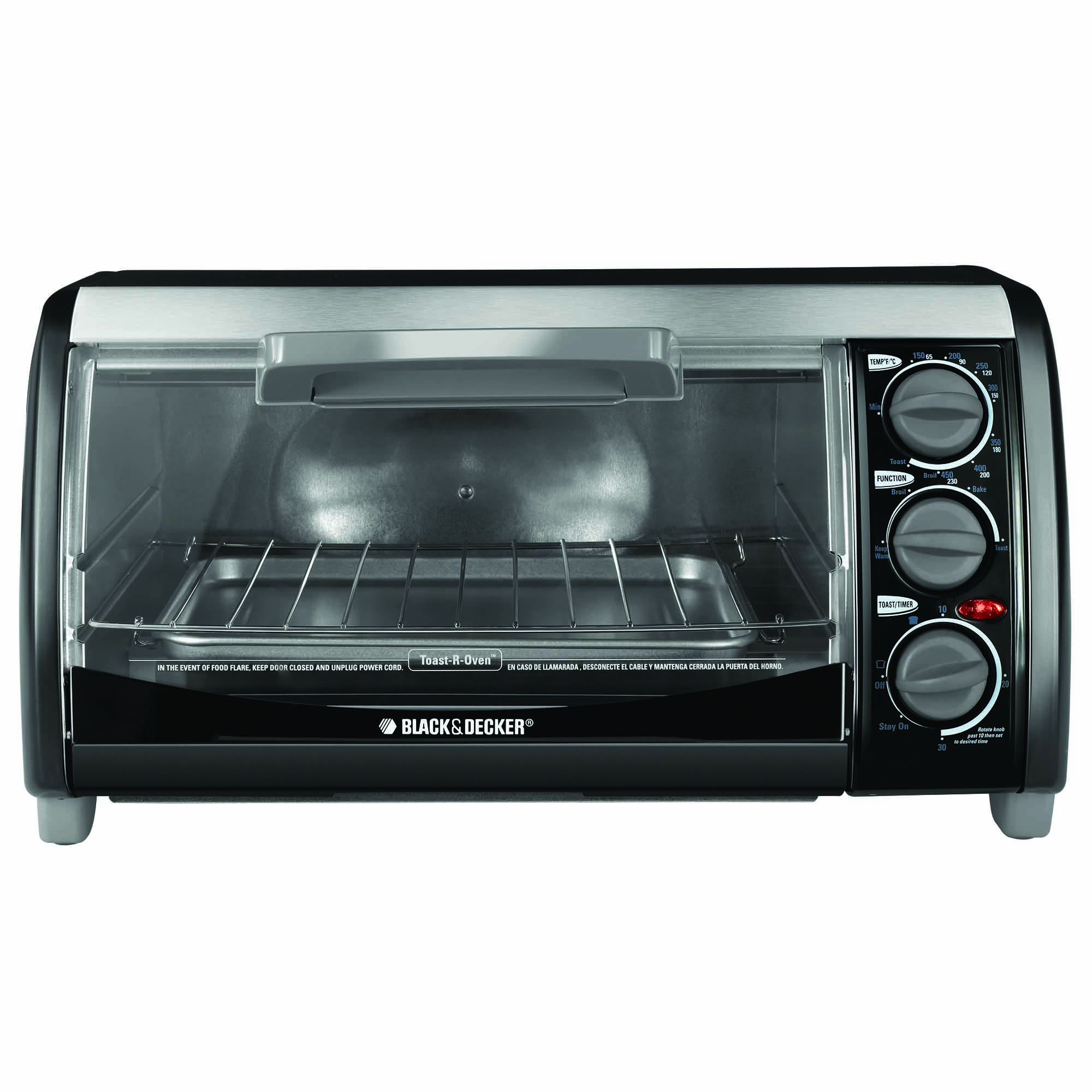 buy a black decker toaster oven counter top toaster oven tro490b rh blackanddeckerappliances com black and decker convection toaster oven instruction manual black & decker toaster oven user manual
