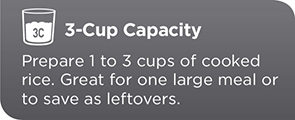 3-Cup Capacity