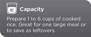 6-Cup Capacity