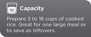 16-Cup Capacity