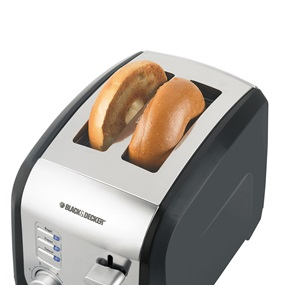 Kitchen Toaster with 2 Slices | Black and Decker Toaster
