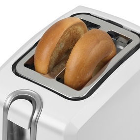 Toaster with 2 Slices Black and Decker