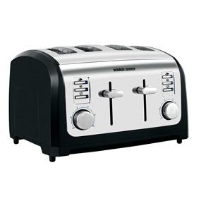 Black and Decker 4-Slice Toaster T4030