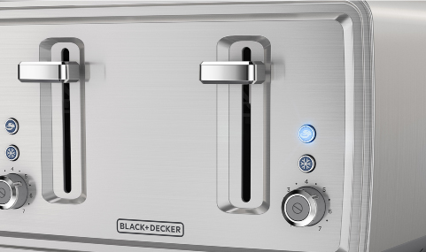 TR4900SSD 4 Slice Toaster Brushed Stainless Steel Finish