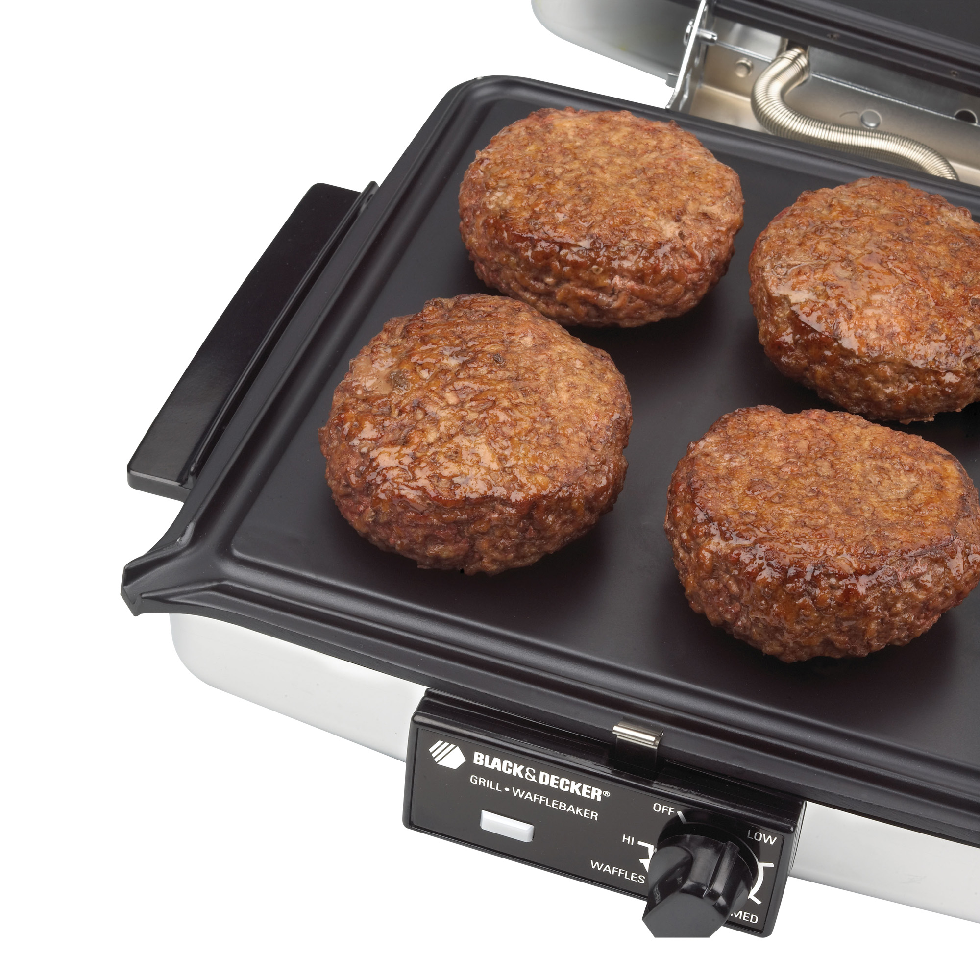 black and decker grill and waffle maker instructions