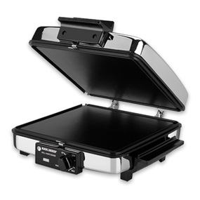 GR48TD Black and Decker Grill Griddle Waffle Maker
