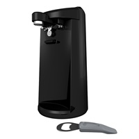 Black+Decker EasyCut™ extra tall black can opener ec500b