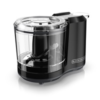 BLACK+DECKER™ One Touch 1.5 Cup Capacity Black Chopper HC150B