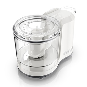 BLACK+DECKER™ One Touch 1.5 Cup Capacity White Chopper HC150W