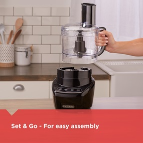 Set and Go for easy assembly