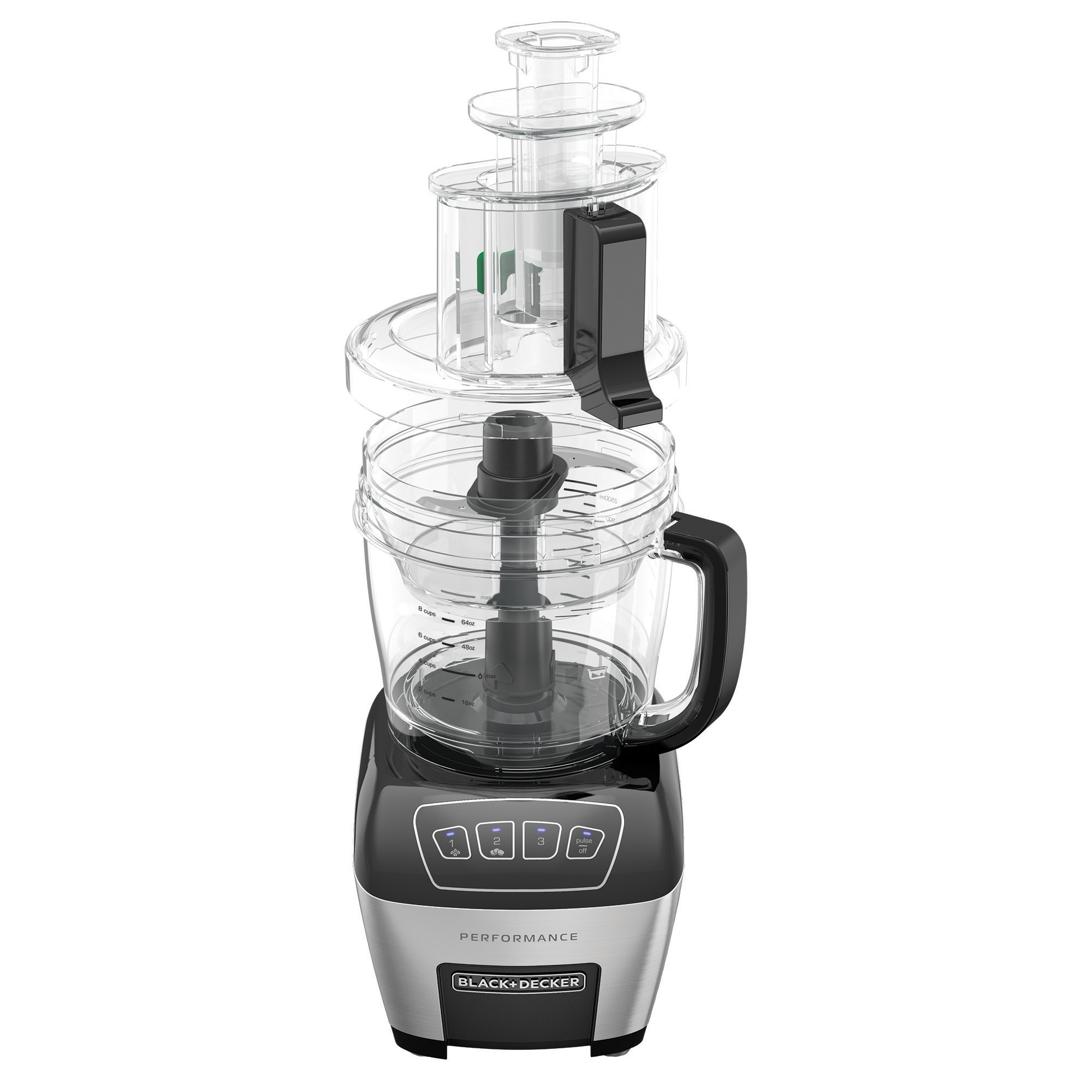 Black And Decker Performance Dicing Food Processor Digital