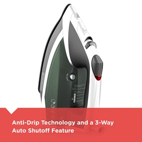 Anti-Drip technology and a 3-way auto shutoff feature