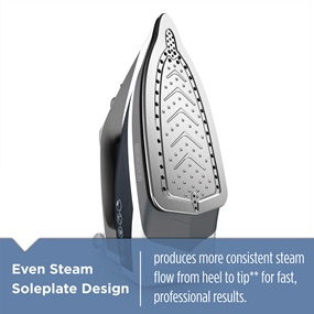 even steam soleplate