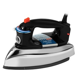 The Classic Black and Decker Steam Iron F67E