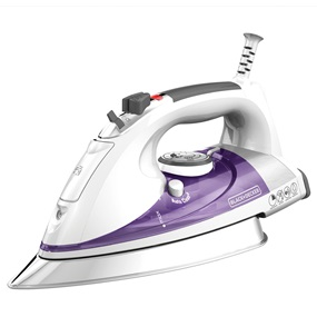 black and decker professional steam iron ir1350s