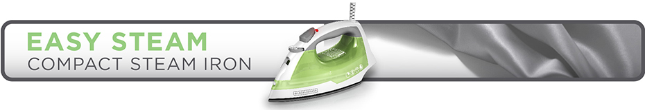 black and decker easy steam iron instructions