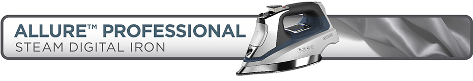 black and decker professional steam iron manual
