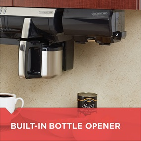 built-in bottle opener