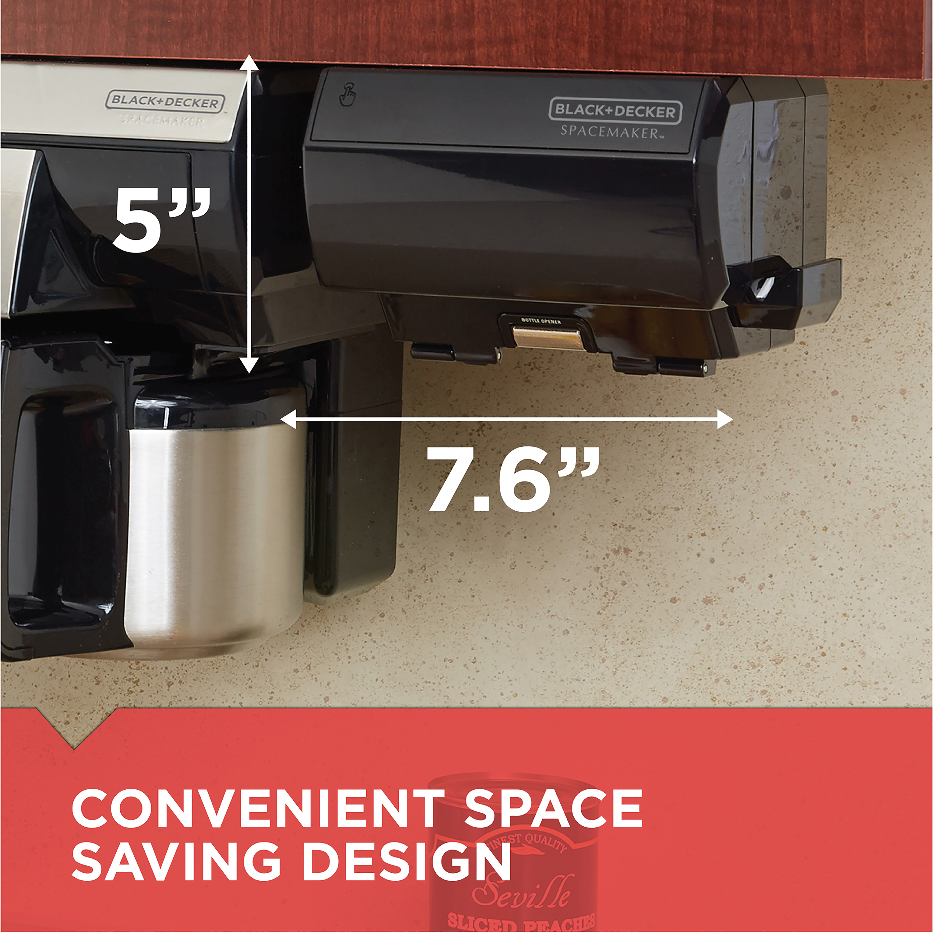 Ordinaire SpaceMaker™ Under The Cabinet Can Opener