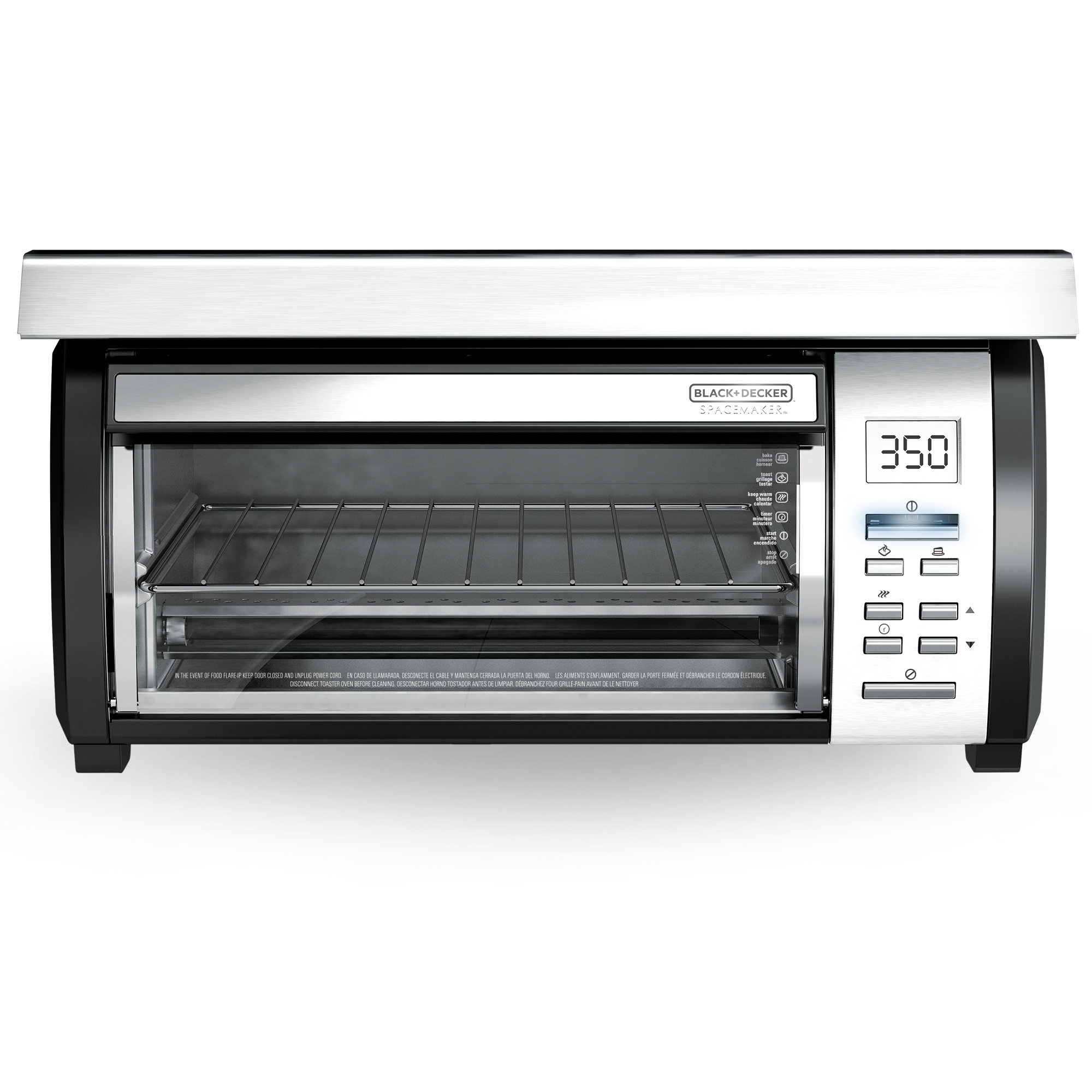 Countertop Oven Black And Decker : Black and Decker SpaceMaker? Toaster Oven TROS1000D