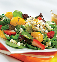 Poppy Dressing Salad