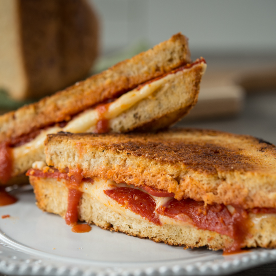 Pepperoni Pizza Sandwich