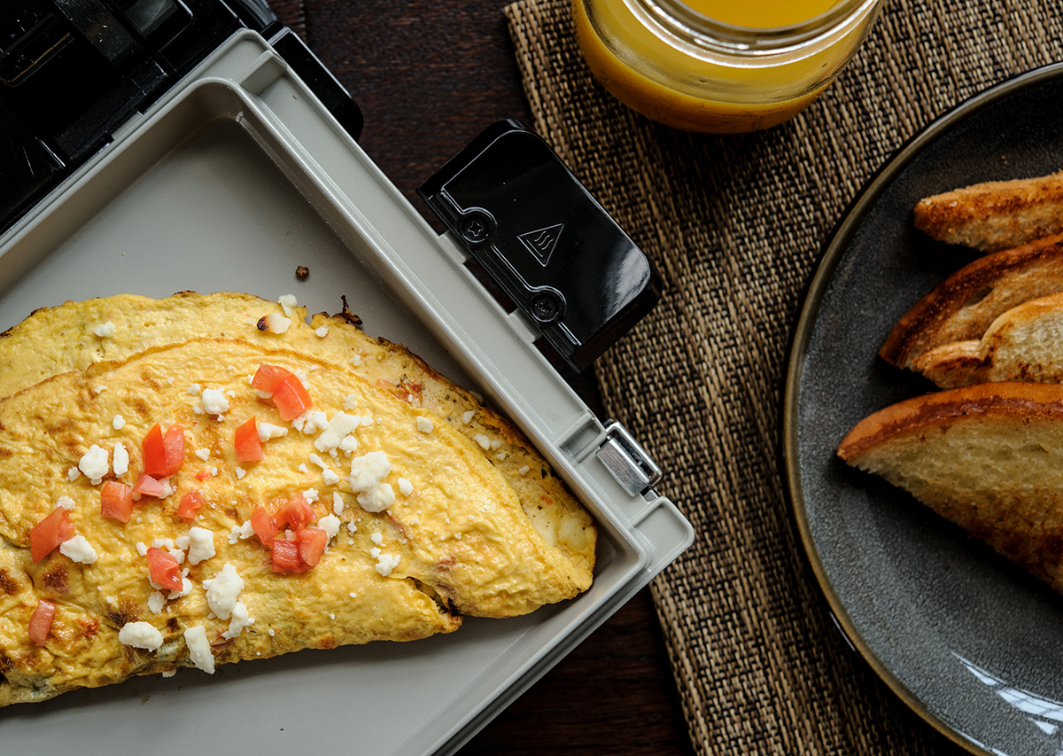 Greek Omelet for Two