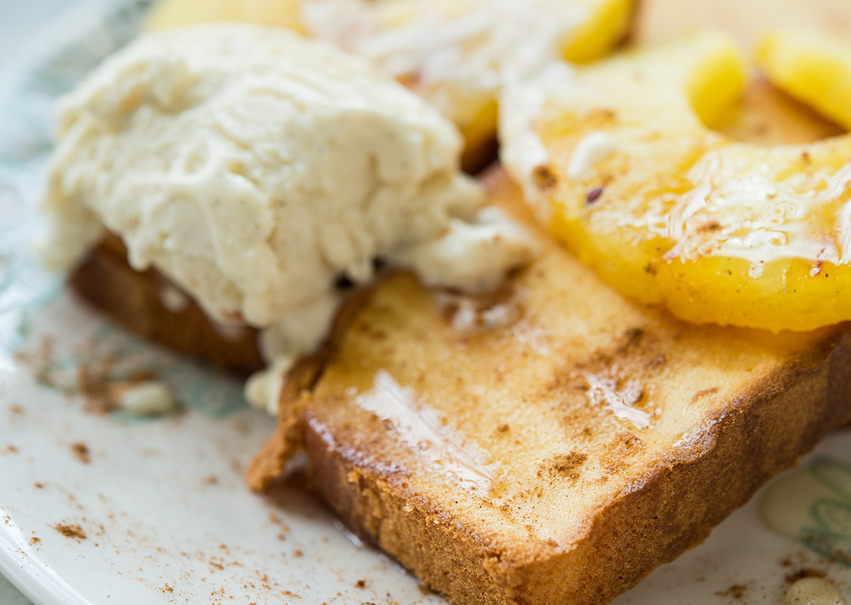 Brazilian Style Pineapple Grilled Pound Cake