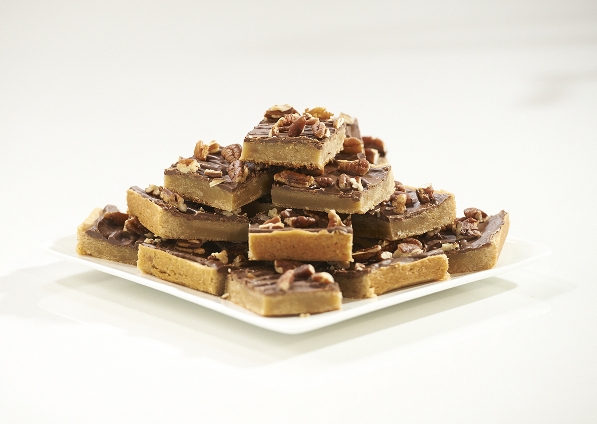 Chocolate Covered Cookie Squares