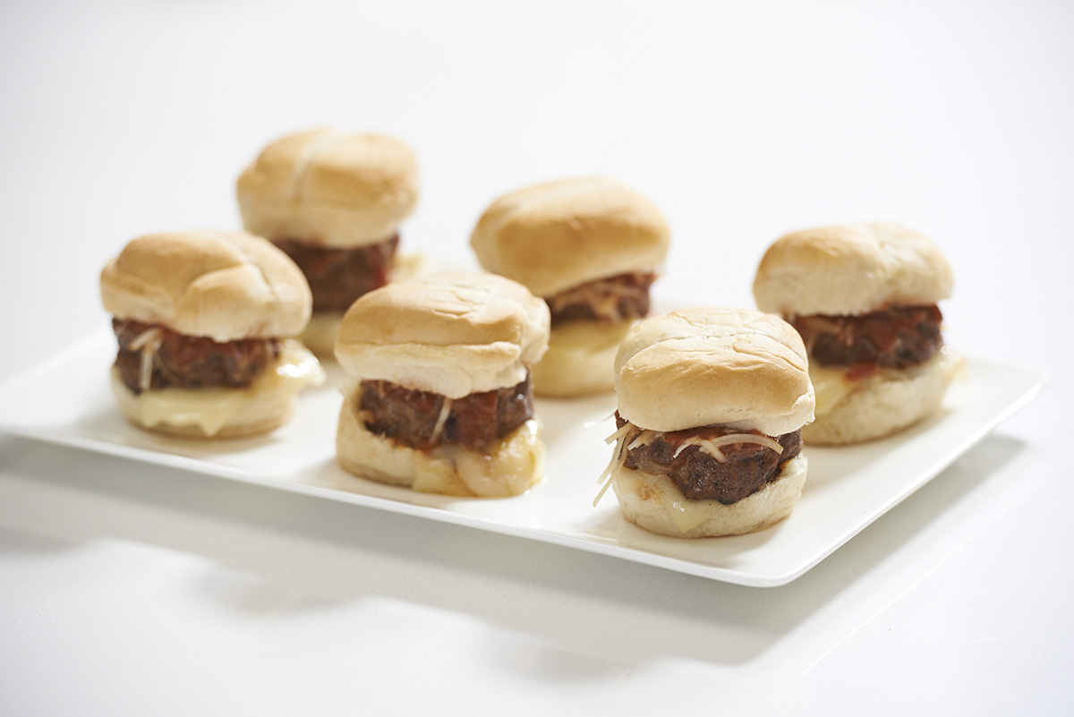George Foreman® meatball sliders recipe
