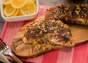 Blackened Salmon Rub