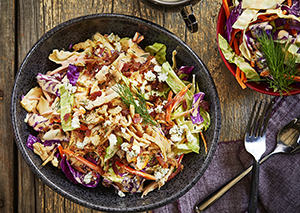 Buffalo Chicken Bacon Slaw George Foreman Recipe